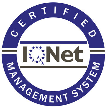 IQNet Certified Button.